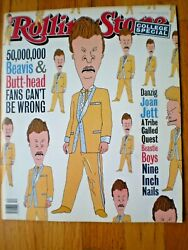 Rolling Stone Magazine 678 Mar 1994 Beavis And Butthead Nine Inch Nails No Label