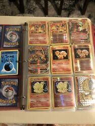 Pokemon Cards Xy Evolutions 100 Complete Master Set With All 5 Charizard.