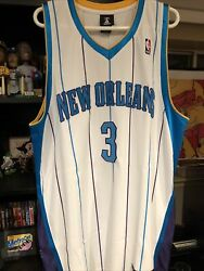 Chris Paul New Orleans Hornets Authentic Adidas Jersey Size 48