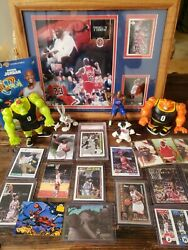 Michael Jordan Nice Nba Card Collection Investment Lot Graded 10 Space Jam Topps