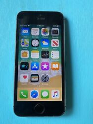 Apple Iphone 5s - 32gb - Space Grey Unlocked A1457 With Box And Accessories