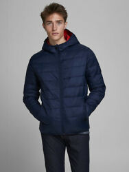Jack And Jones Hooded Puffer Jacket - Size S