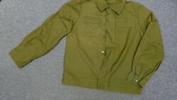 Authentic Soviet Russian Ussr Army Jacket And Tank Top - Size L - Free Shipping
