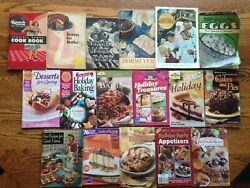 Lot Of 17 Vintage Recipe Booklets Pamphlets Cookbooks Advertising 1940and039s-2000and039s