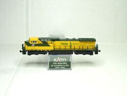 Kato N Scale Ge Ac4400cw Locomotive W/dcc Chicago And Northwestern 176-7035-dcc