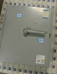 Eaton Panel Mount Switch Fdpw325tr 400 Amp 240 Volt Fusible 125 Hp Top Feed