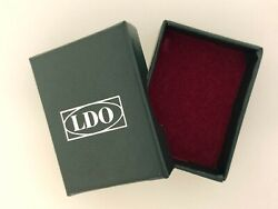 German Wwii Ww2 Green Ldo Issue Award Box For Small Sized Badges Medals And Awards