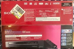 New Sony Rdr-gx255 Dvd Recorder Player 1080i Upconversion Hdmi Output - Nos