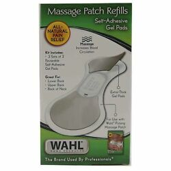 Wahl Massage Patch Refills Self-adhesive Gel Pads
