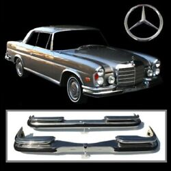 Brand New Mercedes W111 W112 280se Coupe And Convertible Low Grille 3.5 Bumpers