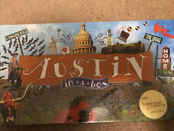 Vintage Austin In-a-box Real Estate Trading Board Game Sealed