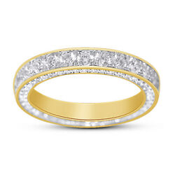14K Yellow Gold Over for Women White Sapphire Rings Jewelry Size 6 10 $94.99