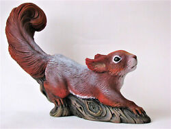 Squirrel Figurine Authorand039s Sculpture Collectible Figure Artificial Marble