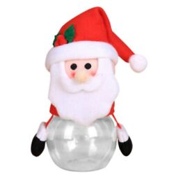 10xnew Christmas Decorations For Home Child Kids Christmas Candy Jar Storage