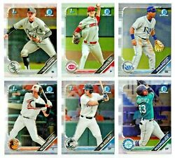 2019 Bowman Draft Chrome Prospects 1-200 1st Rc Buy Moreandsave 99andcent Ship You Pick