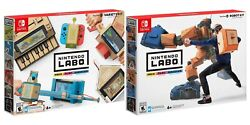 Nintendo Labo Toy-con Variety Kit And Robot Kit Bundle For Nintendo Switch New