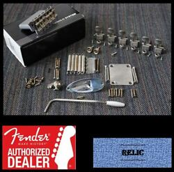 Fender American 57/62 Vintage Stratocaster 2-3/16 Relic Hardware Set W/ Tuners