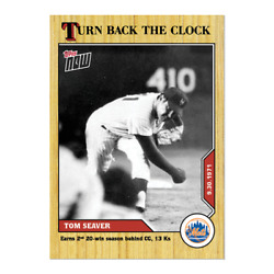 2020 Topps Now Turn Back The Clock Complete Base Set Ltd To 181 Sets Plus