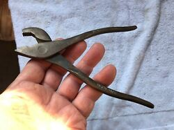 Pliers Pistol Grip 5, Utica Tool Co. 516 And Champion N0.307