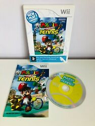 Nintendo Wii Mario Power Tennis Game With Manual And Club Points Card - Pal - Vgc