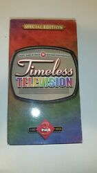 Timeless Television 3 Pack Vhs Bonanza, Rifleman, Wagon Train With Commercials
