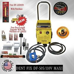 Dent Fix Equipment Df-505 Maxi 110 Volt Dent Pulling System Made In The Usa