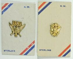Wwii Us Sweetheart Pins On Original Cards