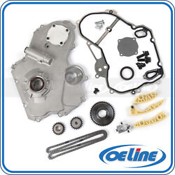 Timing Chain Kit For 00-10 Chevrolet 2.2l Oil Pump Gasket Gear Oiler Bolts Set