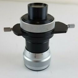 Carl Zeiss Microscope Camera Holder Mount Adapter Photo Tube 4258436