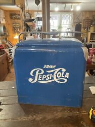 Vintage Harder To 1950s Pepsi Cooler Than Old Coke Items.