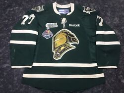 Josh Anderson Game Worn Memorial Cup London Knights Ohl Championship Jersey