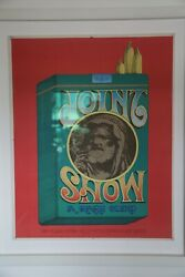 Rick Griffin Joint Show 1967 Artist Proof Framed