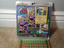Pokemon 3-pack Ex Booster Blister 2x Dragon Frontiers 1x Deoxys New / Sealed