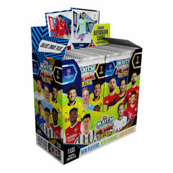 2020-21 Topps Match Attax Extra Champions League Cards Box 36 Packs 252 Cards