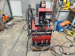 Lincoln Idealarc Cv-300 Mig Welder And Ln-7 Wire Feed