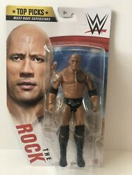 Wwe Top Picks Must-have Superstars 2020 The Rock 6 Inch Action Figure New