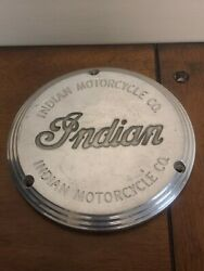 2002 Indian 3 Hole Derby Cover Scout