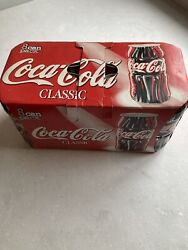 Cocacola Can 8 Pack Mega Ultra Rare 1996 12 Oz Contour Test Cans Full Unopened