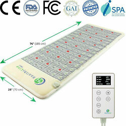 Healthyline 7428 Pemf Bio Therapy Mat Amethyst Photon Pro Infrared Heating Pad