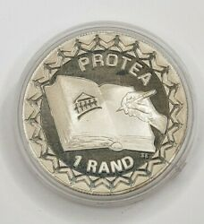 1996 South Africa Silver 1 Rand Bible Coin