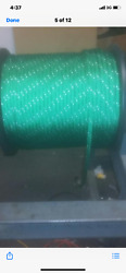 1/2 Polyester Sailboat Rigging Double Braid Rope 600and039 Green