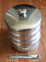 Vintage Regal 5 Tier Stacking Aluminum Picnic Camping Lunch Carrier Coal Miners