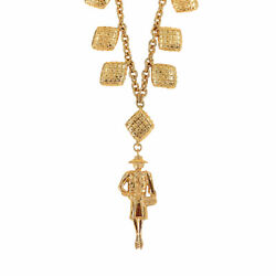 Mademoiselle Necklace Gold Accessory Vintage 90120677