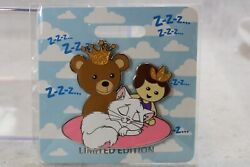 A5 Disney D23 2019 Wdi Le 300 Pin Kitty Cat Naps Princess And The Frog Marcel