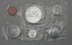 Canada 1966 Proof-like Six Coin Set Sealed In Pliofilm 161005