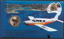 Australia Pnc 2021 - Perth Stamp And Coin Show - Rottnest Air-taxi Service Quokka