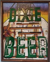 Dixie Brewery Tower, Collage Using Dixie Beer Boxes, Original/signed