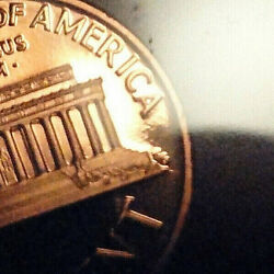 2000 Silver Proof Set Die Crack On Penny And Other Errors 5 Quarters Coa And Ogp