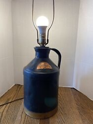 Vintage 1934 H.p. Hood And Sons Eight Quart Milk Can Cream Can/lamp