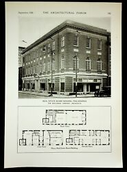 1926 Real Estate Board Building Philadelphia Pa Architecture Plans And Lithograph